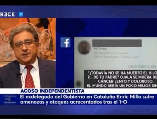 Entrevista a Enric Millo en el Cascabel de 13 TV