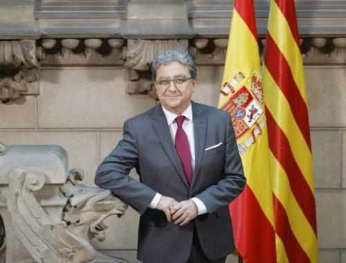 J. Enrique Millo Delegado del Gobierno de España en Cataluña