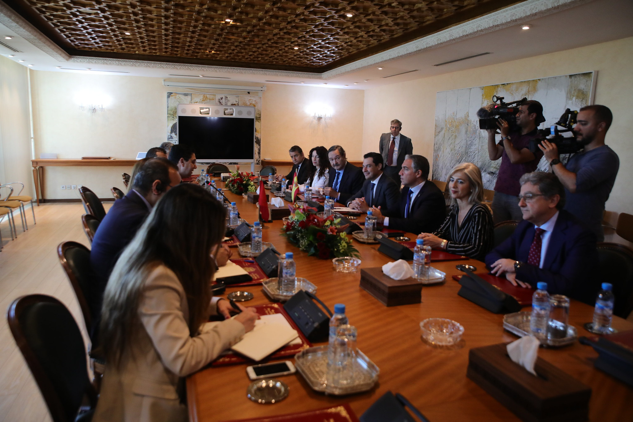 2019-06-18. Junta de Andalucía. Segunda jornada del viaje oficial del presidente Juanma Moreno a Marruecos