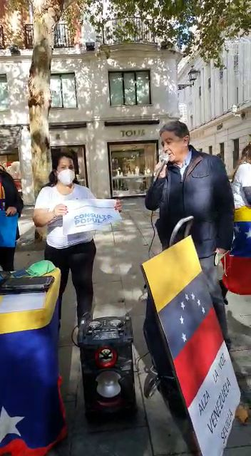 Consulta Popular por Venezuela. Apoyo de la Junta de Andalucía. Apoyo de Enric Millo