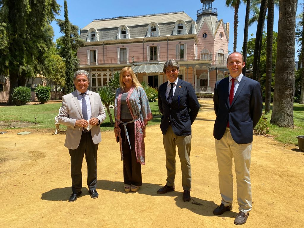 Visita del Embajador de España en Filipinas, D. Jorge Moragas